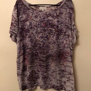 Maurices s/s burnout tee